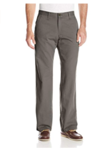 Lee Men's Weekend Chino Straight Fit Flat Front Pant 34 x 34 - $23.74