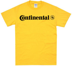Continental car truck bike tires t-shirt - $15.99