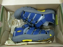 BNIB Keen Newport H2 Youth Boys sandals, pick size, Blue, ships w/o box - $34.65+