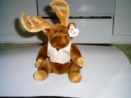 "Ty Attic Treasures Montgomery 15"" Moose - $9.47"