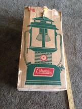 Vintage Coleman Lantern 220F195 Green With Original Box Unused Nos - $108.90