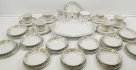 VC Vintage Lot of 40 Piece Everbrite Fine China Japan Savanah Dessert Co... - $74.24
