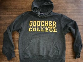 goucher college hoodie Vintage New 90's NWOT Small Awesome  - $37.99