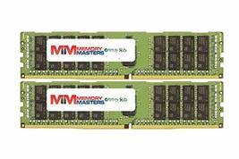 MemoryMasters 64GB (2x32GB) DDR4-2133MHz PC4-17000 ECC RDIMM 2Rx4 1.2V Registere - $312.84