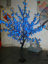 5 Ft 480 pcs blue Light LED Cherry Blossom Tree Wedding Holiday Christmas decor  - $319.00