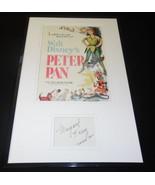 Margaret Kerry Signed Framed 11x17 Photo Display JSA Peter Pan - $98.99