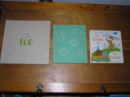 Vintage Lot of 3 RABBIT AND THE TURTLE Bunny Who Found Easter Hardcover ... - $9.49