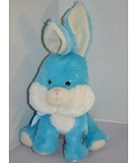 """Walgreens Blue Plush BUNNY RABBIT 8"""" Sings Here Comes Peter Cottontail S... - $18.27"""