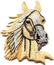 Horse colt bronco filly mustang pony stallion steed applique iron-on pat... - £2.40 GBP