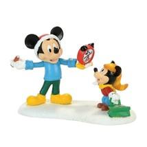 Dept 56 Disney Mickey's Merry Christmas Village Mickey Autograph Alarm Clock RET - $29.99