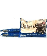 3 Bags Baker's Since 1780 11oz Premium White Chocolate Baking Chips BB 4... - $19.99