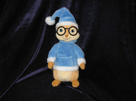 "Alvin & The Chipmunks SIMON Plush, TY, Blue Winter Clothes, 7"" Hat Cap X... - $26.13"