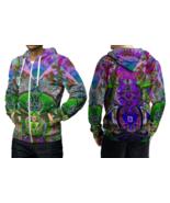 Satanic DMT DRUG Dark Psychedelic Hallucinogen lsd acid hippie Hoodie Zi... - $49.99+