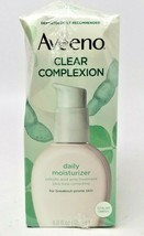AVEENO Active Naturals Clear Complexion Daily Moisturizer (4 Oz.) 6/2021 - $12.49