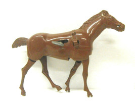 Vintage Wolverine Toys Wind Up Plastic Sulky Chariot Horse Mechanical Sp... - $18.69