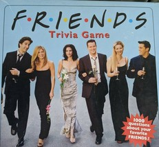 """""""FRIENDS"""" Trivia Board Game by Cardinal 2002 1000 Questions Hit TV Show - £20.85 GBP"""