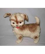 "WONDERFUL Vintg 9 1/2"" Edward Mobley RUBBER DOG Squeeze - $52.06"