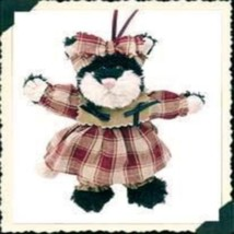 "Boyds Bears ""Espresso Frisky"" 5.5"" Plush Cat Orn- #56272- New- 1999- Retired - $11.99"