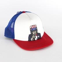 Vans Off The Wall America Patriot Uncle Sam Mesh Beer Trucker Snapback Hat Cap - $19.95