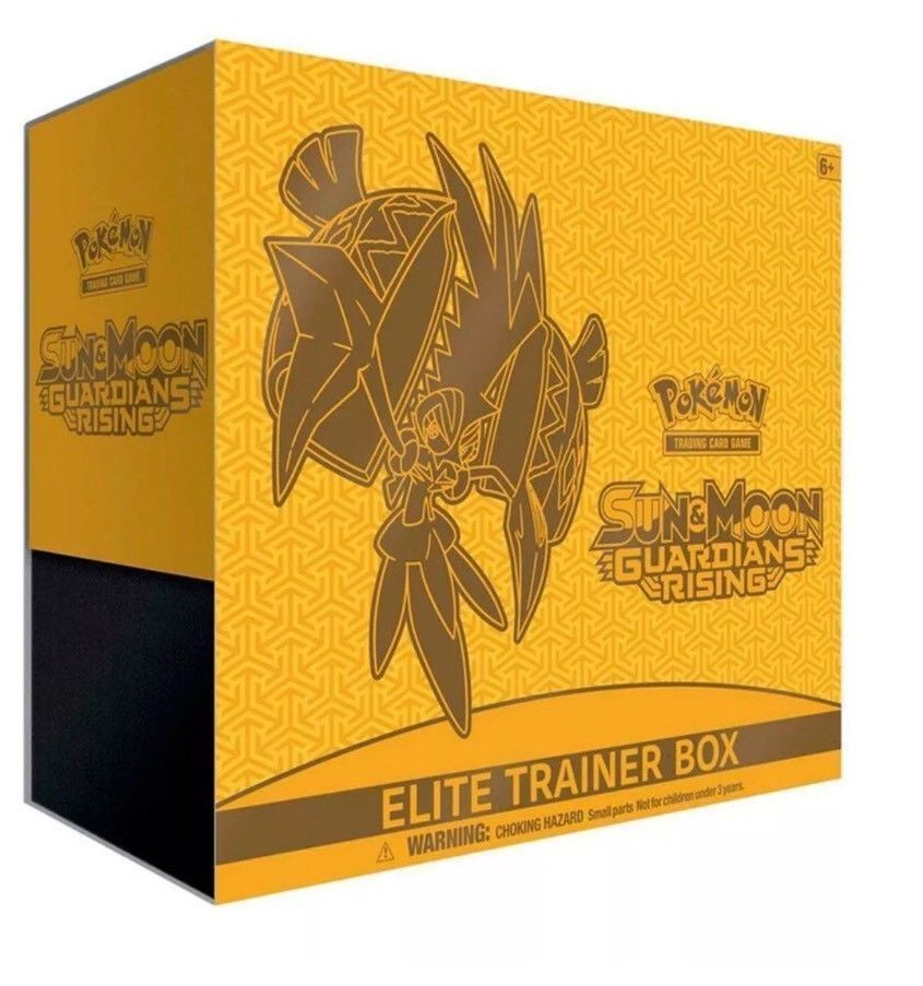 Sun and Moon Guardians Rising Elite Trainer Box Pokemon Trading Cards Sealed