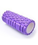 Adeco Purple Exercise & Fitness Foam Roller - 13 X 5.5 Inch Diameter - £14.22 GBP