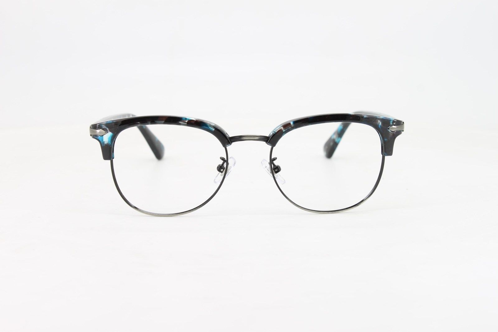 c0a356f49d8 Ebe Bifocal Reading Glasses Mens Womens Blue Tortoise Quarter Frame Retro  Trendy