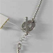 Necklace to Balls Silver 925 Jack&co with Infinity in Rose Gold 9KT JCN0548 image 5
