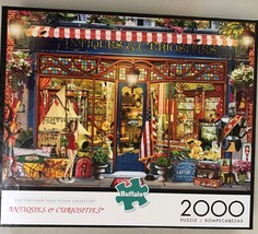 Buffalo Games Jigsaw Puzzle 2000 Pieces Antiques and Curiosities with Poster image 3