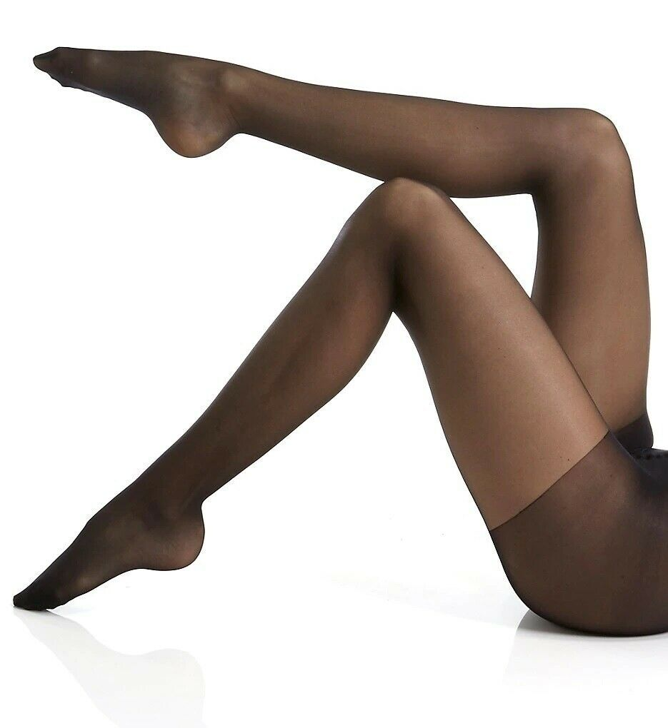 Calvin Klein BLACK Hosiery Sheer Essentials Active Sheer Control Top, US D