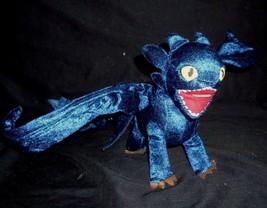 Dreamworks How To Train Your Dragon Toothless Night Fury Stuffed Animal Plush - $22.21