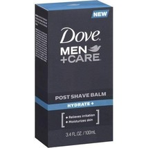 Dove Men+Care Post Shave Balm, Hydrate, 3.4 Ounce Pack of 3
