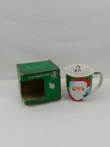 Christmas House Holiday Mug 14oz w/ Santa NEW - $11.64