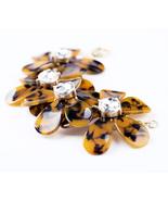 Imitated  Women Fashion Resin Flower Bracelet - $23.26