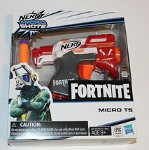 New Nerf Fortnite Micro TS Shots Toy Blaster Red Hasbro - $8.90