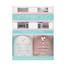 Triple Vitamin Duo Gel-Lacquer D813 Satin Sheets - $13.85