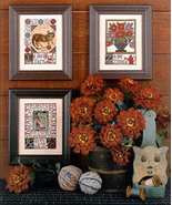 Y & Z  REPRINT christmas cross stitch chart Prairie Schooler  - $10.80
