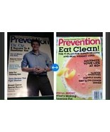 set of 2 prevention magazines back issue 2012 & jan 2014 - $18.99