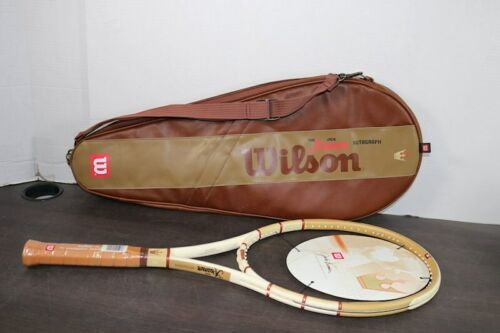 "New Wilson Jack Kramer Autograph Millennium Lim Ed Racket 4-3/8"" 1661/2000 Case"