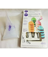 Wilton 12Pk Treat Pops Decorating Filling Topping Tip Nozzle Bag Set Dec... - $14.99