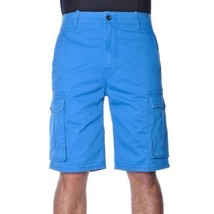 NEW LEVI'S MEN PREMIUM COTTON ORIGINAL RELAXED FIT CARGO SHORTS BLUE 124630175