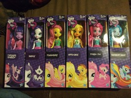 "My Little Pony 9"" EQUESTRIA GIRL DOLLS - Complete Set of 6 Dolls Lot - N... - $77.99"