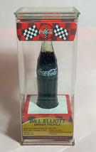 "Coke Coca-Cola McDonald's Mini Miniature 3.5"" Soda Bottle Bill Elliott #94 1999 image 3"