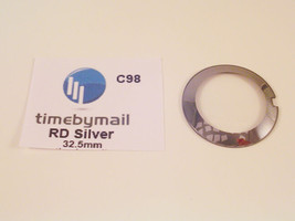 For Rado Coupole Silver Watch Replacement 32.5mm Glass Crystal Spare Part C98 - $24.33