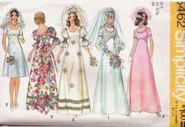 UNCUT SIMPLICITY 5462 Juniors & Wedding & Bridesmaid Dress - Sz 8 - Vint... - $12.99