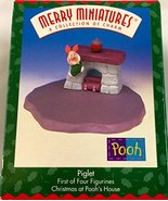 Ornament Piglet Hallmark Merry Miniatures Christmas At Pooh's House - $5.87