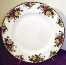 "Royal Albert Old Country Roses Dinner Plate 10.5"" - $17.90"