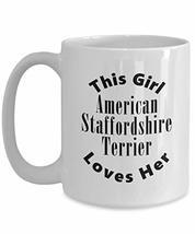 American Staffordshire Terrier v2c - 15oz Mug - $16.95