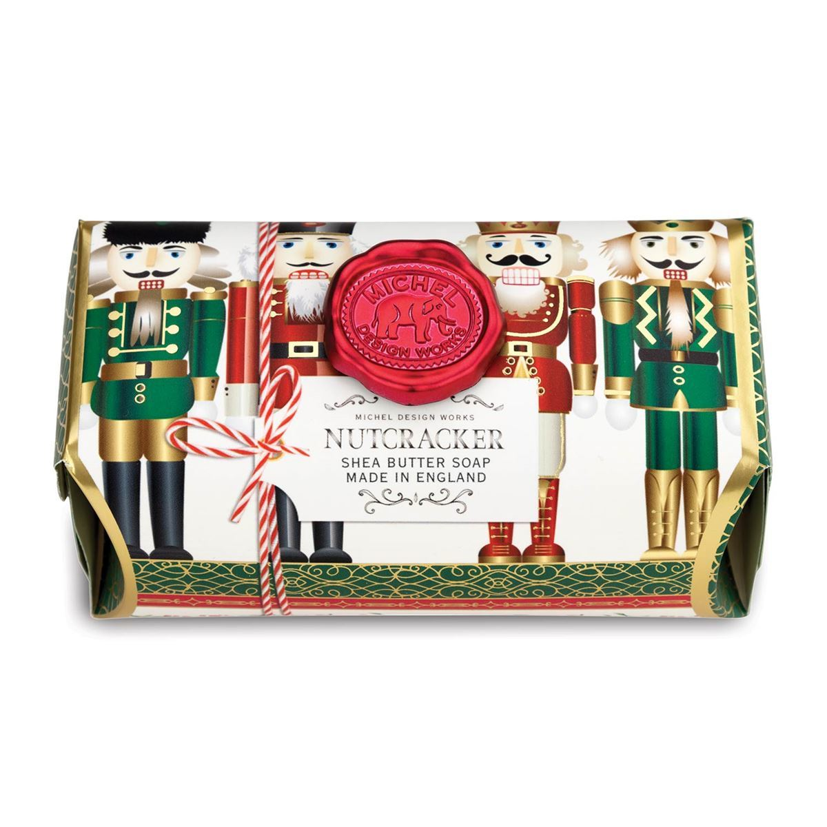 Michel Design Works Nutcracker Large Bath Soap Bar 8.7oz