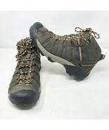 Keens Men's Voyageur Mid Vented Raven Tawny Olive Hiking Boots Size 11.5... - $98.99