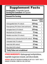 anti inflammatory supplement - ASHWAGANDHA COMPLEX 770MG - adaptogen capsules 2B image 2